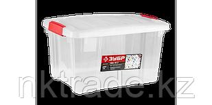 """Ящик-контейнер прозрачный, со съемной крышкой, серия """"МАСТЕР"""""""