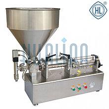 Настольный поршневой дозатор для жидких и вязких продуктов PPF-1000T