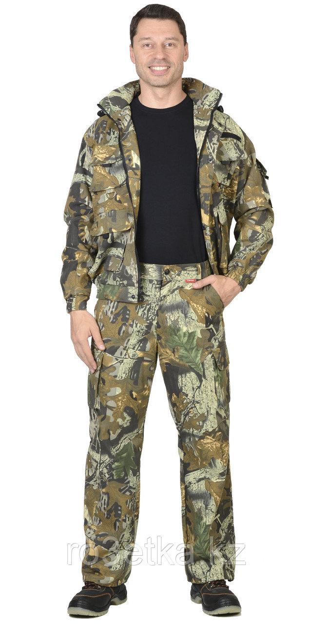 """Костюм """"Байкал"""" : куртка кор., брюки КМФ """"Тёмный лес"""" Камуфляжная одежда для охоты и рыбалки"""