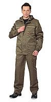 """Костюм """"Геолог"""" летний: куртка, брюки (тк.CROWN-230 ) хаки Камуфляжная одежда для охоты и рыбалки"""
