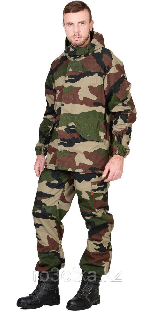 """Костюм """"ГОРКА"""" летний: куртка, брюки ( тк.Рип-Стоп ), КМФ """"НАТО"""" Камуфляжная одежда для охоты и рыбалки"""