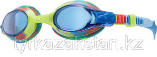 Детские очки для плавания в бассейне TYR Swimple Tie Dye цвет 465