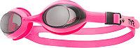 Очки для плавания детские TYR Youth Flexframe цвет 042 Дымчатый/Розовый