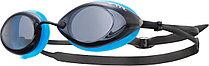 Стартовые очки для плавания TYR Tracer Racing цвет 093 Дымчатый/Голубой/Черный