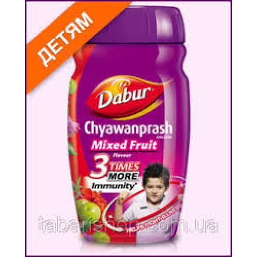 Чаванпраш Фруктовый Дабур (Chyawanprash Awaleha Mixed Fruits Dabur), повышает защитные функции организма
