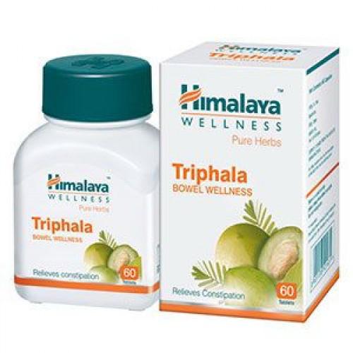 Трифала  (Tripfala Himalaya), 60 таб,  очищение организма