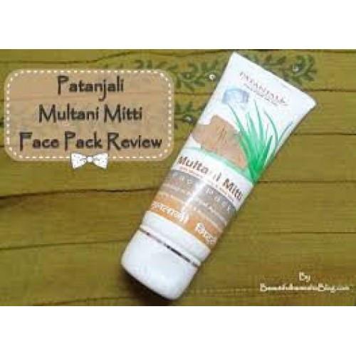 Маска для лица с лечебной глиной Multani Mitti Патанджали Аюрведа