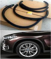Широкие арки колеса на BMW X5 F15