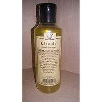 Шампунь Кхади с шафраном, тулси и мыльным орехом (Khadi shampoo with saffron, tulsi, reetha)