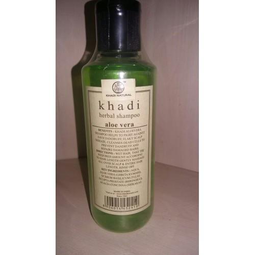 """Khadi шампунь"""" Алоэ Вера """"( Shampoo - aloe vera) для любого типа волос"""