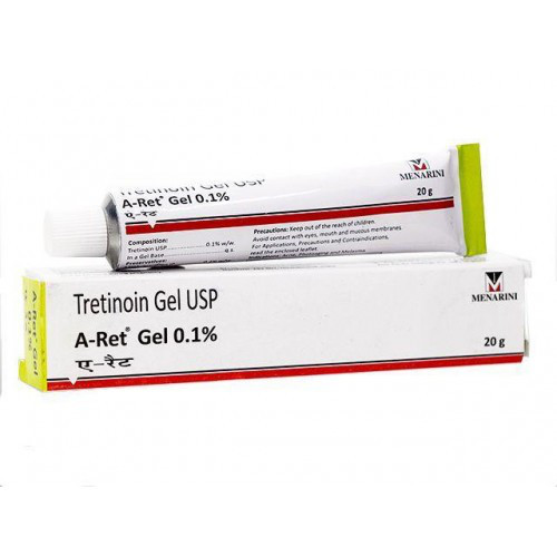 Третиноин гель 0,1% Tretinion gel