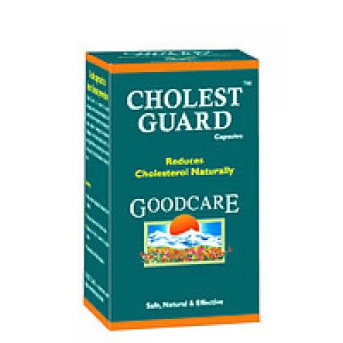 Холест Гард, холестерин под контролем ( Cholest Guard Goodcare),способствующая выводу избыточного холестерина