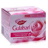 "Крем для лица с маслом розы, увлажняющий ""Дабур Гулабари"", 55 гр (Dabur Gulabari Cream)"