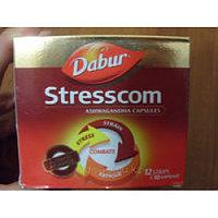 Стресском Дабур (Stresscom Dabur), 10 таблеток, общеукрепляющие и мягкое успокаивающие средства
