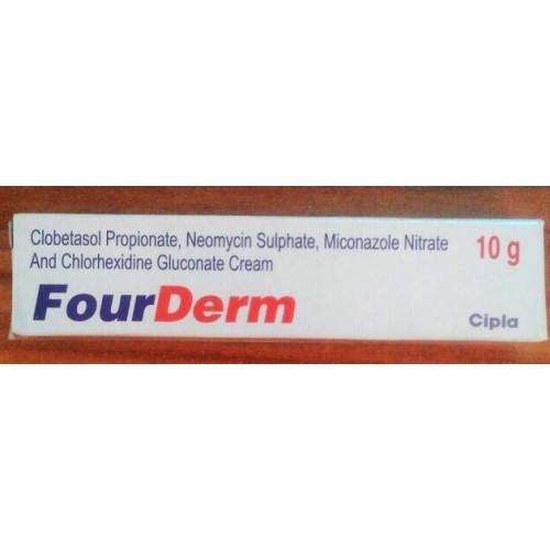 Крем FourDerm, Cipla, 10 гр,крем от грибковых заболеваний