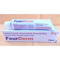 Крем FourDerm, Cipla, 20 гр, антибактериальный крем, от грибковых заболевани
