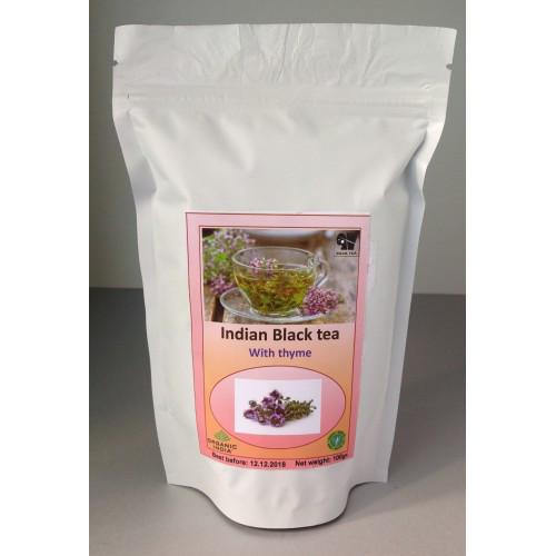 Индийский чай с чабрецом, 100 гр Organic India
