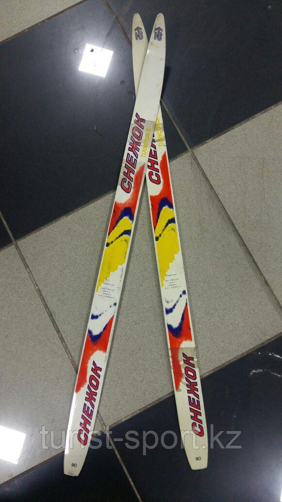 Лыжи беговые детские Снежок