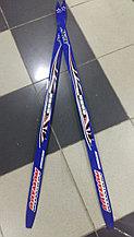 Лыжи беговые синие