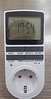 Розетка-таймер 16А/3680W, фото 1