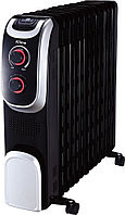 Обогреватель KlimaNY2513-13AL (13 fins without fan,2500w,black+silver)