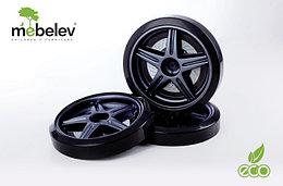 Объемные пластиковые колеса для серии Мустанг,Ауди А-4 и Камаро(комп. 2 шт.)Чёрный