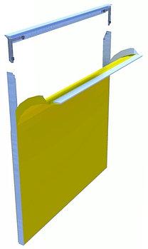 Система алюминиевых профилей для натяжения текстиля