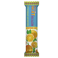 """Фруктовый батончик """"Flax Fruit"""" с апельсином, 30 гр."""