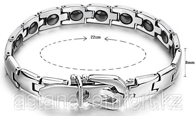 Лечебно-энергетический браслет с турмалином и германием. Мужской и женский.