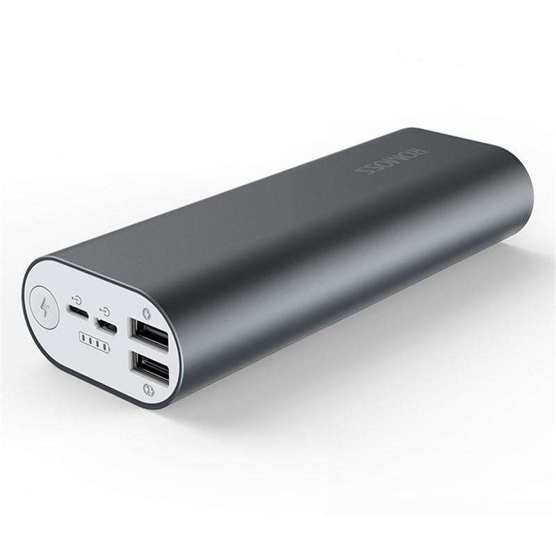 Дополнительный аккумулятор ROMOSS ACE 20000 mAh (серый)