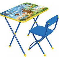 Детский стол и стул Ника хочу все знать КП2/7