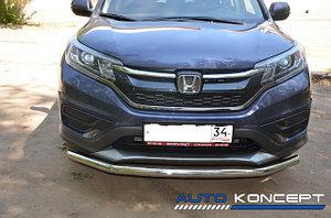 Защита переднего бампера HONDA CR-V 2013