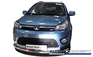 Защита переднего бампера (радиус) GREAT WALL М4 2013