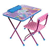 Детский стол и стул Ника Рапунцель от 1,5 до 3 лет, фото 1