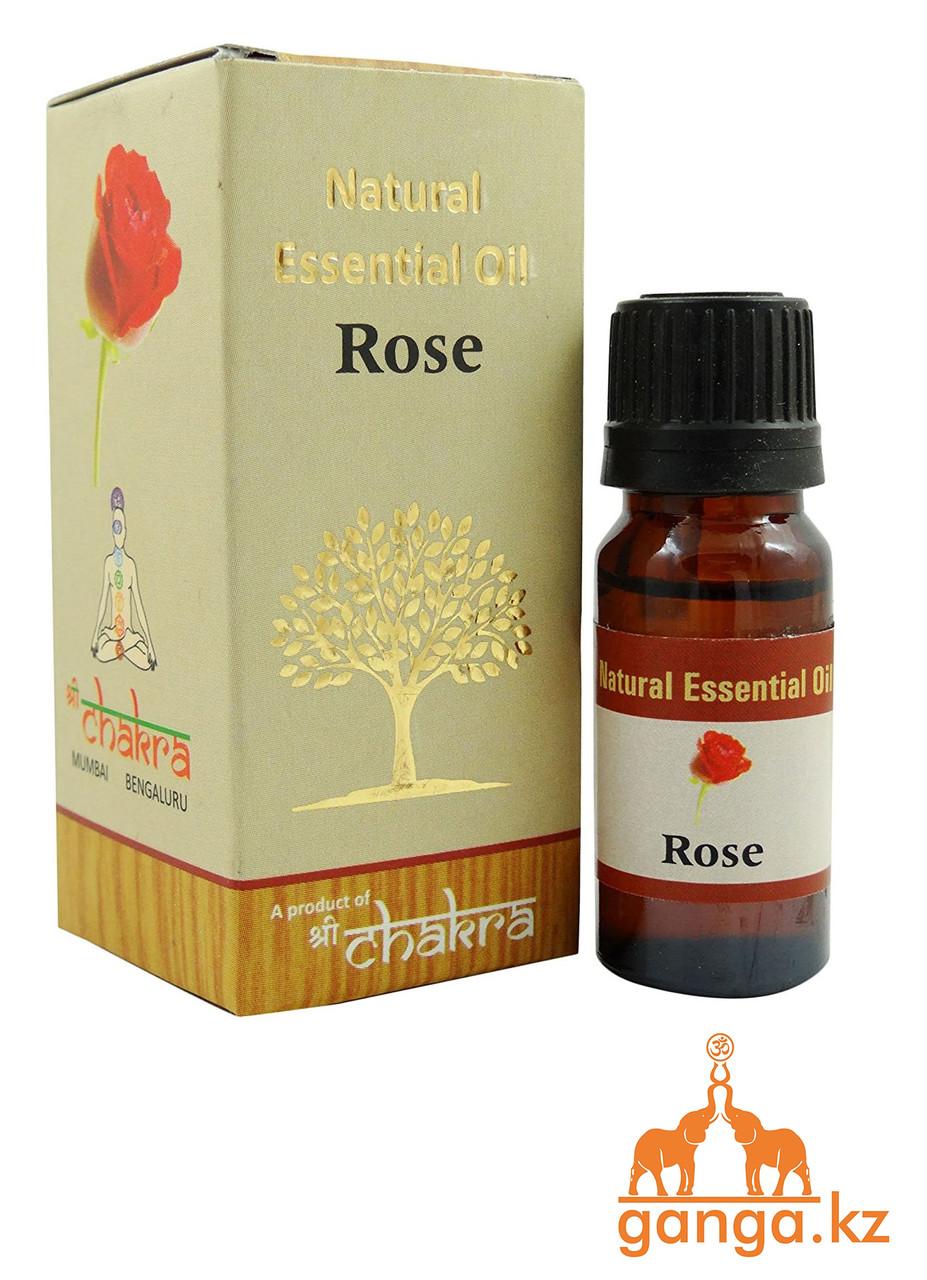 Натуральное эфирное масло Роза (Rose CHAKRA), 10 мл