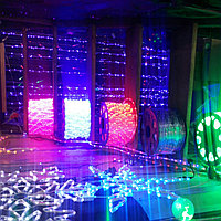 Светодиодный дюралайт 100 метров (30 ламп на 1 метр) для помещений и улицы водонепроницаемый, фото 1