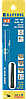 """Полотна KRAFTOOL """"Pro Cut"""" спиральные для лобзика, №3, 130мм, 6шт"""