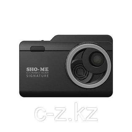 Видеорегистратор с радар-детектором SHO-ME Combo Slim Signature, фото 2