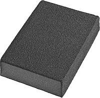 Губки шлифовальные DEXX четырехсторонняя, AL2O3 средняя жесткость, Р120, 100х68х26мм