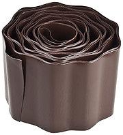 Лента бордюрная Grinda, цвет коричневый, 20см х 9 м, 422247-20
