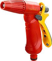 Распылитель GRINDA поливочный пластиковый, тип пистолетный, регулируемое сопло