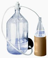 Перекачивающая система ПЭ-3000 для агрессивных жидкостей с ножным насосом