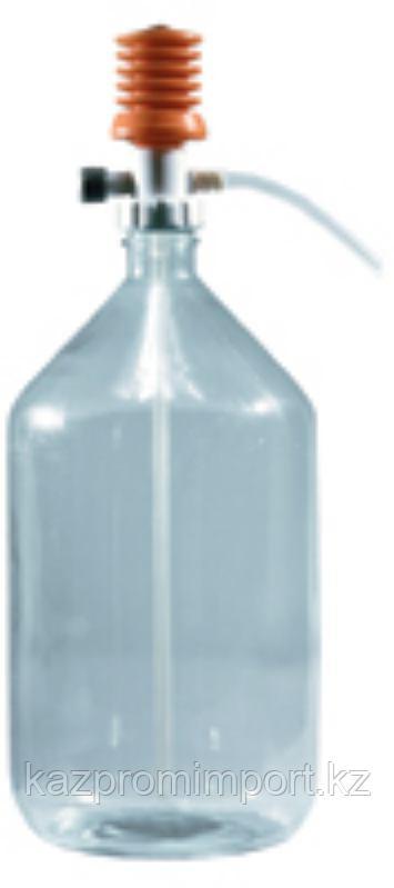 Перекачивающая система ПЭ-3010 для агрессивных жидкостей с ручным насосом и клапаном