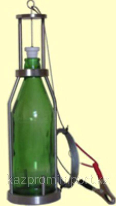 Пробоотборник ПЭ-1650 для отбора проб нефтепродуктов (бут. 0,5 л) с тросом  5 м