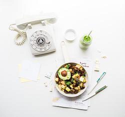 5 полезных блюд для обедов в офисе