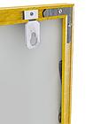 Алюминиевый багетный профиль (Белый, черный, синий, красный (Глянец) Золото ,Серебро ,Бронза(Матовый), фото 3