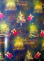 """Новогодняя бумага для упаковки подарков """"Новогодняя елочка"""""""