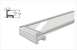 Nielsen № 1 алюминиевый багетный профиль  (Золото/серебро) хром