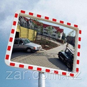 Дорожное сферическое зеркало 400*600 мм (со светоотражающей полосой)