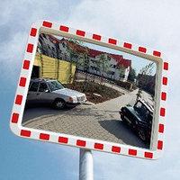Дорожное сферическое зеркало 400*600 мм (со светоотражающей полосой), фото 1